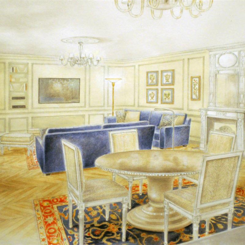 Activité indépendante en architecture et décoration